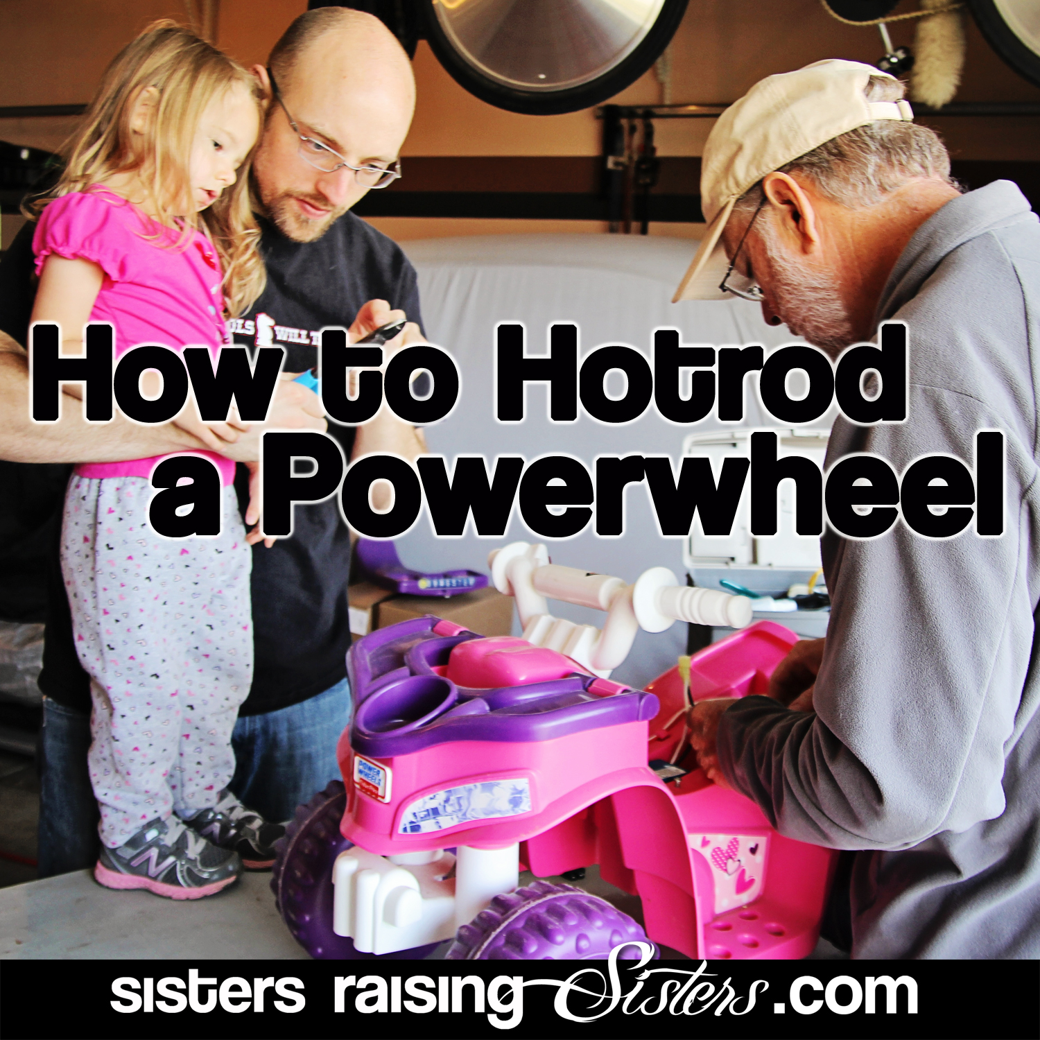 How to Hotrod a Power Wheel - super easy step-by-step tutorial on