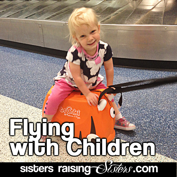 Great tips for flying with children