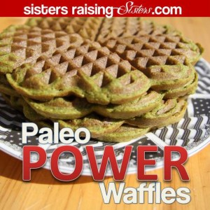You must try this Paleo Waffle Recipe. These are FULL of carrots and spinach and taste sweet and delicious!