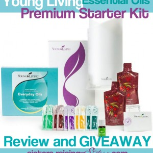 Young Living Essential Oils Premium Starter Kit Review and Giveaway