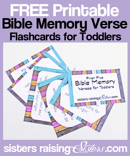photo regarding Free Printable Scripture Verses named Final 5 Bible Verses in the direction of Coach Your Infant - Sisters Growing