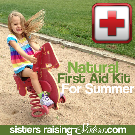 Natural First Aid Kit for Summer