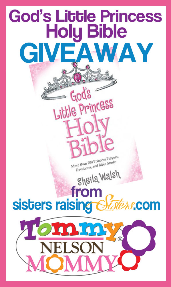 Gods Little Princess Holy Bible Giveaway