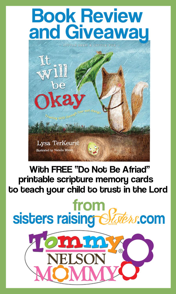 It Will Be Okay Giveaway and Printable