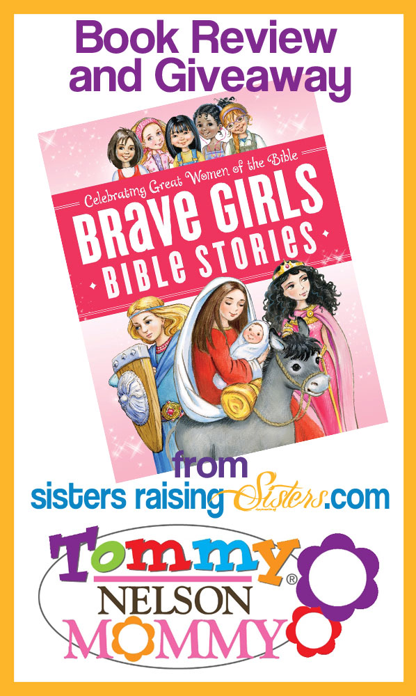 Brave Girls Bible Stories - book review and giveaway.
