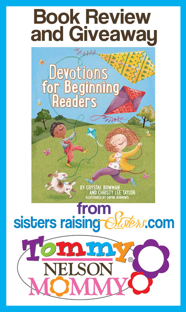Devotions For Beginning Readers Review and Giveaway. Win your copy here!  Ends 11/28.