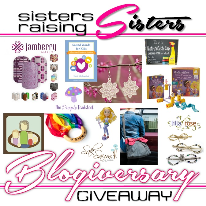 Enter to win all these amazing products for mommas and kids from Sisters Raising Sisters!